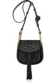 Top editors picks from 70-s: ChloéHudson mini whipstitched suede shoulder bag