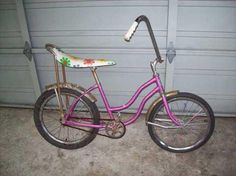 Vintage banana seat bicycles - Had to have one of these!