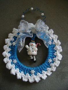200 best Crochet Clocks, Frames, Wreaths images on Pinterest ...