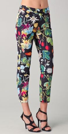 Love these floral pants!