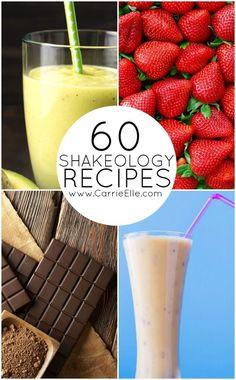 Shakeology Recipes for Every Flavor of Shakeology