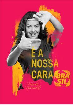 CANAL BRASIL - É A NOSSA CARA   Manipulação, Digital on Behance
