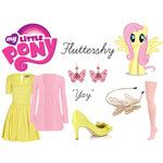 Fluttershy (My Little Pony) Inspired Outfit