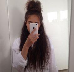 no rain, no flowers ❁ // Curly Hair Tips, Hair Dos, Curly Hair Styles, Natural Hair Styles, Big Chop, Messy Hairstyles, Pretty Hairstyles, Blond, Hair Colorful