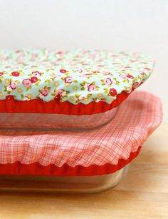 How To Make Reusable and Washable Baking Dish Covers
