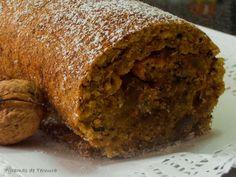 Receita Sobremesa : Torta de noz com doce de gila de 7gramasdeternura