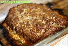 Granny's Meatloaf http://cookinginbliss.com/grannys-meatloaf/ #recipes