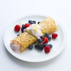 Summer Berry Crepe | Healthy Recipes