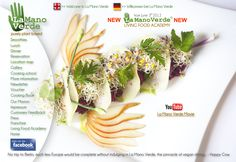 La Mano Verde Restaurant Berlin, Germany -- gourmet raw food... Place I want to GO!