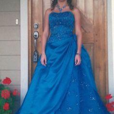 Pretty Prom Dress.