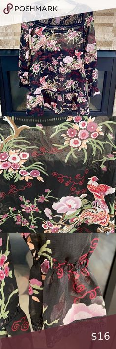 """LG SCALE FLORAL SATIN BROCADE~GOLD~COTTON//RAYON~18/""""x25/""""~QUEEN ANN~ACC/'S~TRUNKS"""