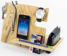 Anniversary gifts for men require a tuned balance when buying it's practically an art form Check our Nixie Dream handmade desk organizer It is designed to keep items like key