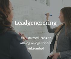 Leadgenerering er en effektiv måde at skabe flere kunder til din virksomhed.   #leadgenerering #business #oldenburgconsulting
