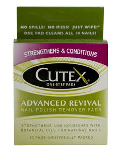Cutex Advanced Revival 10 ct. Pads