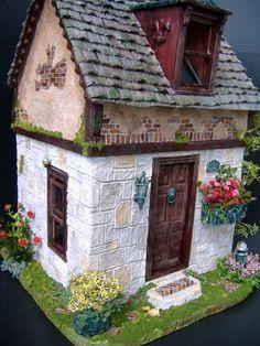 Primrose Cottage Dollhouse Apple Tree - Primrose Cottage Bashed - Gallery - The Greenleaf Miniature Community