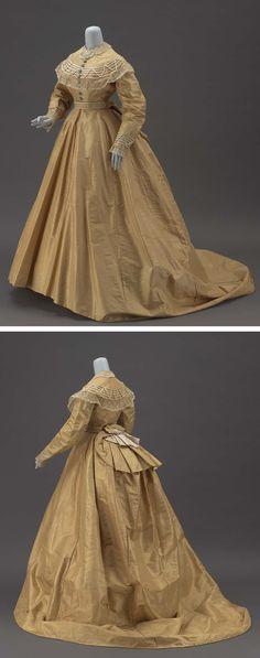 Dress, about 1865