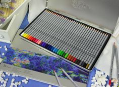 Hộp Bút Chì Màu Raffine Marco - Raffine Marco Water Color Pencils, one of how-to-es draw beautiful painting http://bookbuy.vn/van-phong-pham/40645/hop-but-chi-mau-raffine-marco-36-cay-.html