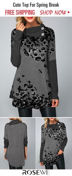 cb2f96944321 Button Embellished Ribbed Detail Curved Hem T Shirt. New sign-ups get 5%