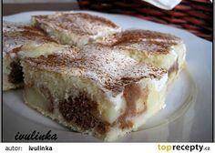 Bratislavská buchta recept - TopRecepty.cz Czech Recipes, Ethnic Recipes, Tiramisu, French Toast, Low Carb, Breakfast, Sweet, Desserts, Merry