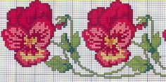 This Pin was discovered by Lal Cross Stitch Boarders, Just Cross Stitch, Cross Stitch Needles, Beaded Cross Stitch, Cross Stitch Flowers, Cross Stitch Charts, Cross Stitch Designs, Cross Stitching, Cross Stitch Embroidery