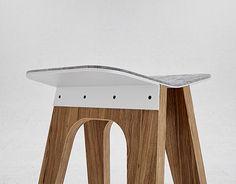 Ознакомьтесь с этим проектом @Behance: «C5 bar stool» https://www.behance.net/gallery/16882017/C5-bar-stool