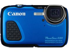 Canon PowerShot D30 Digital Camera RRP £299.99 | Now £219.00 – Save £80 http://tidd.ly/d200e4b3