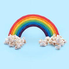 Twizzlers & Popcorn by Paul Fuentes Canvas Artwork, Canvas Frame, Canvas Prints, Art Prints, Art Mural, Wall Art, Rainbow Candy, Rainbow Art, Artist