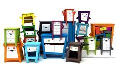 Muebles infantiles divertidos para gente divertida, Möbelebt - Mamidecora