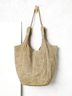 Free People Scarlett Distressed Suede Tote, C$261.63