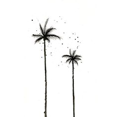 New Palm Tree Sketch Watercolors 48 Ideas Palm Tree Sketch, Palm Tree Drawing, Tree Sketches, Coconut Tree Drawing, Small Palm Trees, Small Palms, Palm Tree Leaves, Watercolor Trees, Watercolour Paintings