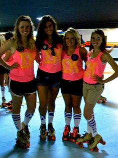 Go roller skating for a sisterhood event or for a Bid Night activity for the new members.