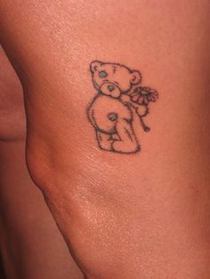 Image result for small teddy bear tattoos