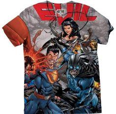 Camiseta de Injustice en todas las tallas
