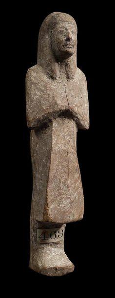 Wooden shawabty. New Kingdom. 18th- 20th dynasty. 1550–1070 B.C. | The Museum of Fine Arts, Boston