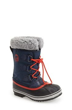 SOREL 'Yoot Pac' Waterproof Snow Boot (Toddler, Little Kid & Big Kid) available at #Nordstrom