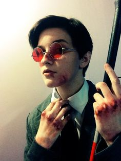 9edd607d64 they got the devil in  em this is a daredevil cosplay Male Cosplay
