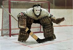 A Canadian hockey icon, Ken Danby, collapsed and died Sunday while canoeing on North Tea Lake in Algonquin Park, Ontario. While Danby, wasn't a hockey Ken Dryden, Nhl Season, Hockey Season, Goalie Mask, Toronto Star, Toronto Maple, Alex Colville, Hockey Goalie, Canadian Artists