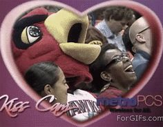 The Best Kiss-Cam Ever. . . This is horrifying