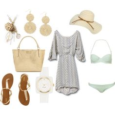 My perfect day at the beach wear!