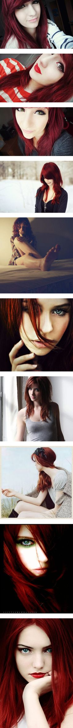 Red hair! I want!! :3