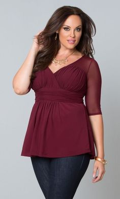 Plus size women Valentines party dresses (11)