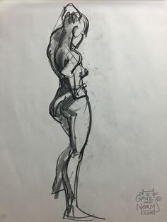 Figure Drawing 052815 http://grizandnorm.tumblr.com/