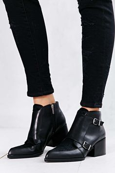 Circus By Sam Edelman Reese Monk Strap Boot - Urban Outfitters