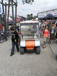 Aston Martin Club Car golf cart