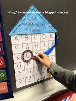 Rincón de una maestra: La casita de las letras Phonics, Ideas Para, Literacy, Homeschool, Language, Classroom, Teaching, Activities, Holiday Decor