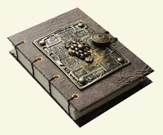 Coptic Stitch Steampunk Sketchbook/Journal by MamayoJournals, $28.00