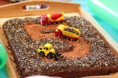 Lollies: Geburtstagskuchen für Baustellenfans