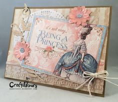 Graphic 45 Gilded Lily Cardmaking