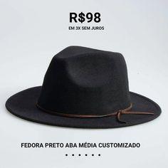 e8ce5124b524d 29 melhores imagens de Custom Hats By Chapéu   Estilo Brasil ...