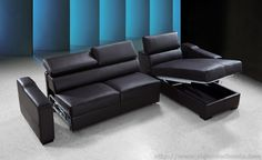 Leather sectional sofa bed - Leather sectional sofa bed